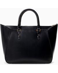 Zara Shopper Bag - Lyst