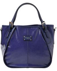Tod's New G Coated Cotton Canvas Mini Tote Bag - Lyst