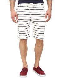 Publish Hemp Striped Knit Short - Lyst