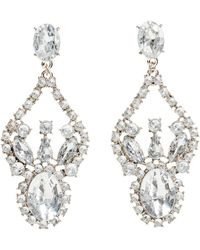 H&M Sparkly Stone Earrings - Lyst