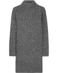 McQ by Alexander McQueen Wool-Blend Mini Dress - Lyst