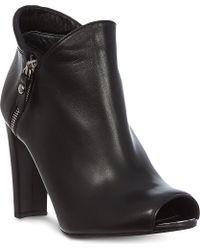 Stuart Weitzman Jump Leather Shoe Boots - Lyst