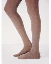 Free People Brown Cashmere Tight - Lyst