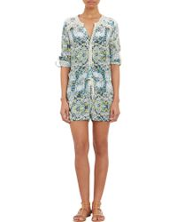 Twelfth Street by Cynthia Vincent Abstract Print Romper - Lyst