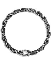 David Yurman Armory Figure-eight Small Link Bracelet - Lyst