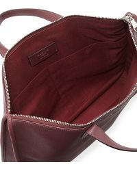 Loewe - Toledo Leather Briefcase - Lyst