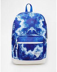Gola Tie Dye Print Backpack - Blue