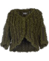 Philosophy di Alberta Ferretti Fur Outerwear - Lyst