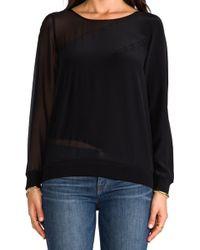 Pjk Patterson J. Kincaid Mercury Sweatshirt in Black