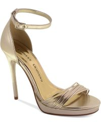 Chinese Laundry Isabel Platform Evening Sandals - Lyst