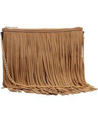 H&M Shoulder Bag With Fringes - Lyst