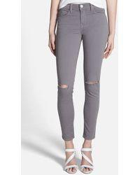 Rebecca Minkoff Distressed Skinny Jeans - Lyst