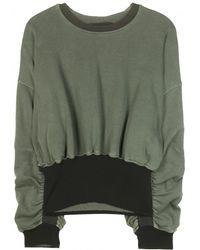 Haider Ackermann Cotton Sweater - Lyst