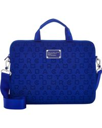 Marc Jacobs Dreamy Logo 13 Computer Case - Blue