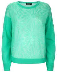 Juicy Couture Daisy Jacquard Sweater - Lyst
