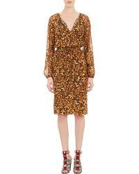Altuzarra Tortoiseshell-print Arabella Dress - Lyst