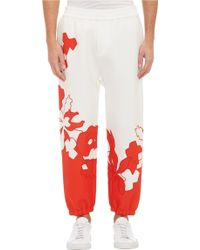 3.1 Phillip Lim Floral-embroidered Pants - Lyst