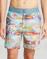 Robert Graham Multicolor Shorts - Lyst