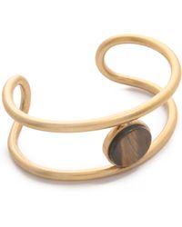 Madewell - Flat Sided Cuff Bracelet - Chestnut - Lyst