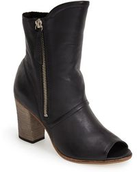 Matisse 'Leon' Open Toe Ankle Boot - Lyst