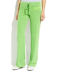 Juicy Couture Repeat Terry Cloth Pants - Lyst
