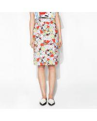 Erdem Frida Skirt Eton Bloom - Lyst