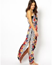 MINKPINK Floral Maxi Dress - Lyst