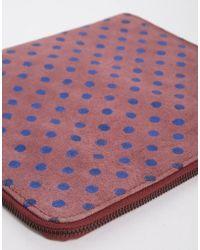Ganni - Leather Ipad Case - Lyst