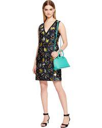 DKNY Saffiano Leather Mini Top Handle Bag - Lyst