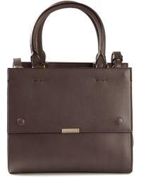 Victoria Beckham Top Handles And Shoulder Strap Mini Tote Bag - Lyst
