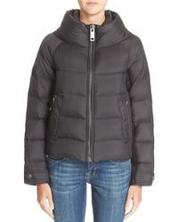 Burberry Brit - 'townfield' Short Goose Down Jacket - Lyst