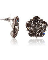 Maiocci Collection - Flower Crystal Earring - Lyst