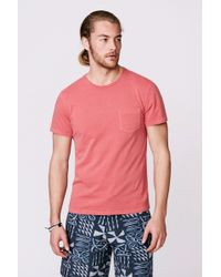 Faherty Brand Gd Pkt Tee - Lyst