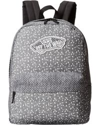 Vans Gray Realm Backpack - Lyst