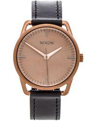 Nixon Black The Mellor - Lyst