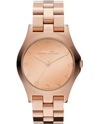 Marc By Marc Jacobs Women'S Rose Gold Ion-Plated Stainless Steel Bracelet 36Mm Mbm3212 - Lyst