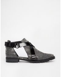 Asos Man On Cut Out Shoes - Lyst
