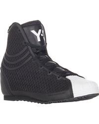 Y-3 Nicke Wedge Sneakers - Lyst