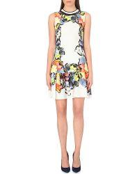 Erdem Pirinilla Floral-print Silk Dress - Lyst