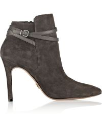 Pour La Victoire Candence Suede Ankle Boots - Lyst