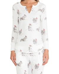 All Things Fabulous Squirrel Thermal Top - Lyst