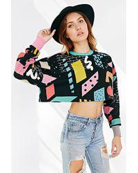 Lazy Oaf - Blocks Printed Sweater - Lyst