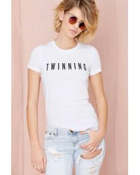Nasty Gal X Private Party Twinning Tshirt - Lyst
