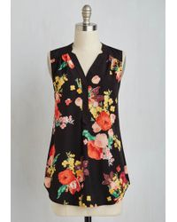 ModCloth | Girl About Easton Tunic In Bouquets | Lyst