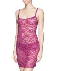 Cosabella 'Never Say Never - Foxie' Lace Chemise pink - Lyst