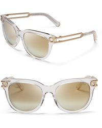 Chloé Chloé Mirrored Wayfarer Sunglasses - Bloomingdale'S Exclusive - Lyst