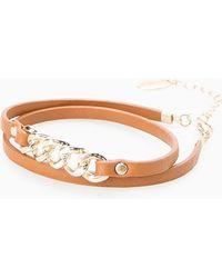Violeta by Mango - Link Mixed Bracelet - Lyst