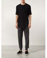 Y-3 Draped Track Trousers - Lyst