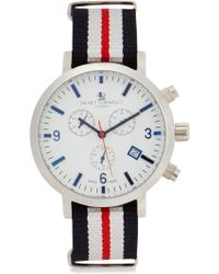 Smart Turnout London Stainless Steel Chronograph Watch - Multicolour