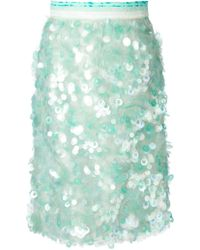 Daizy Shely   Paillettes Skirt   Lyst